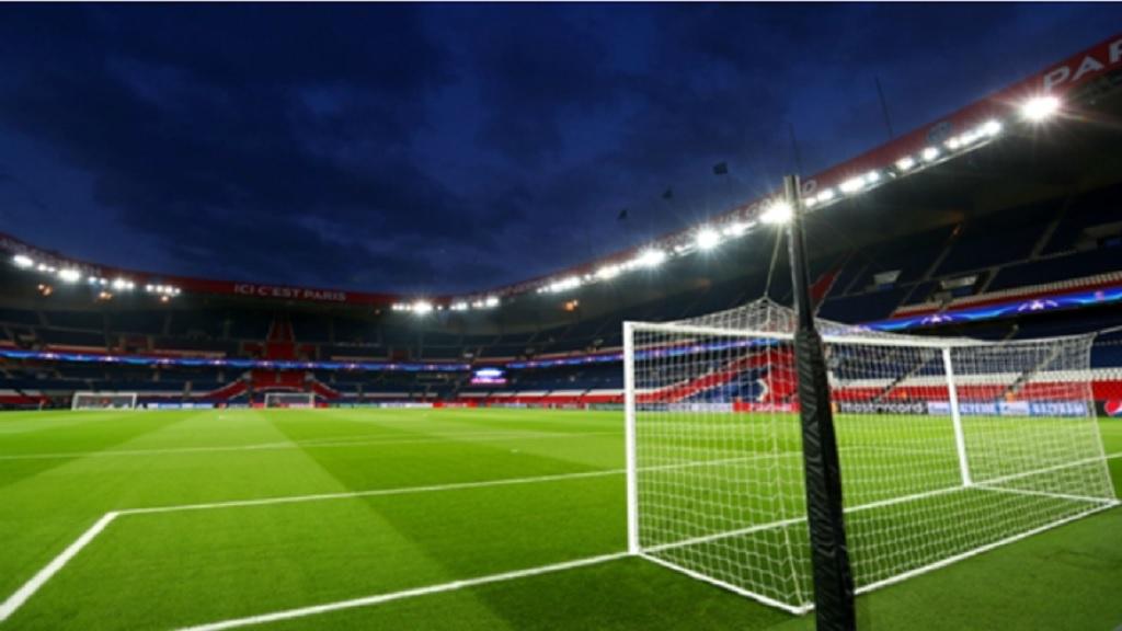 PSG's home stadium Parc des Princes.