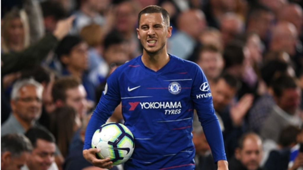 Chelsea midfielder Eden Hazard.