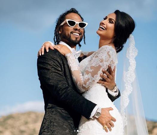 Miguel ties the knot with longtime girlfriend