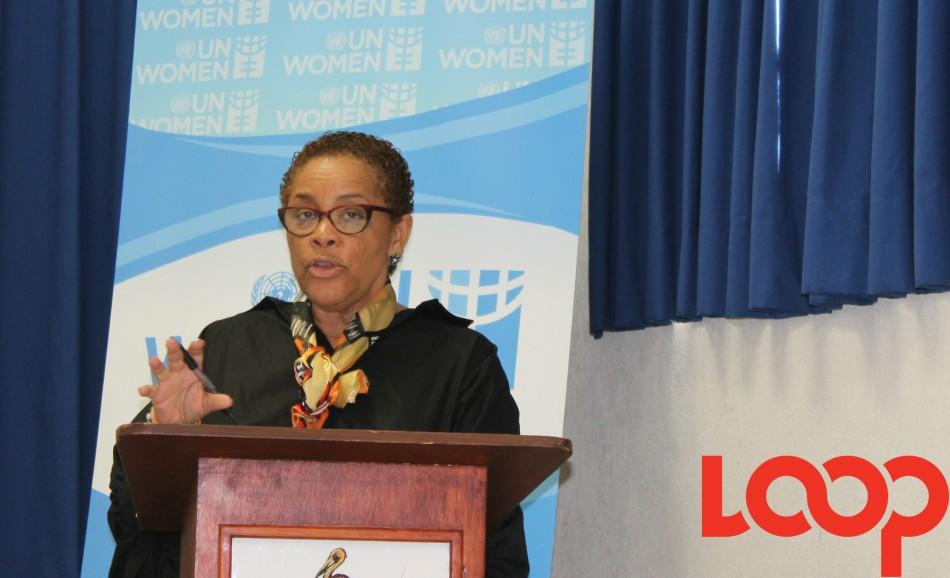 UN Women Representative, Alison McClean.