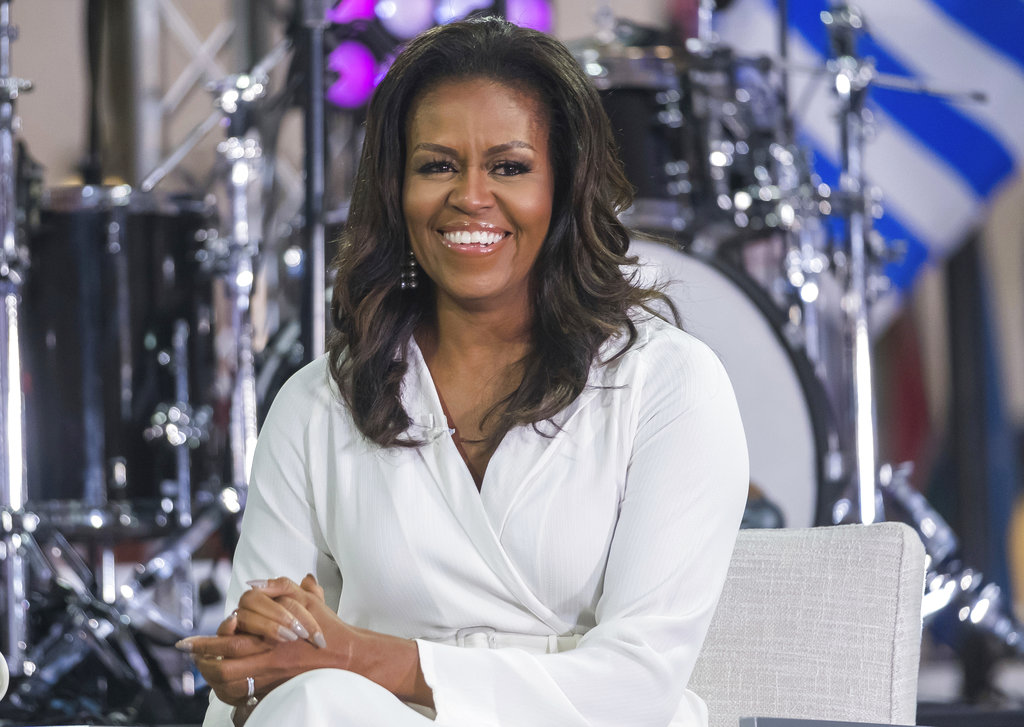 Michelle Obama Reads From Her Forthcoming Memoir 'Becoming'
