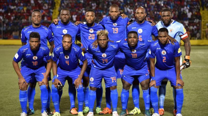 La sélection Haïtienne de football.