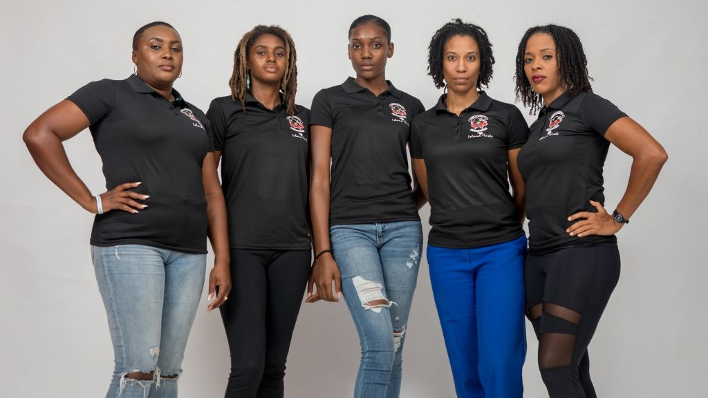 The Antiguan women who will be participating in the Talisker Whisky Ocean Rowing challenge.
