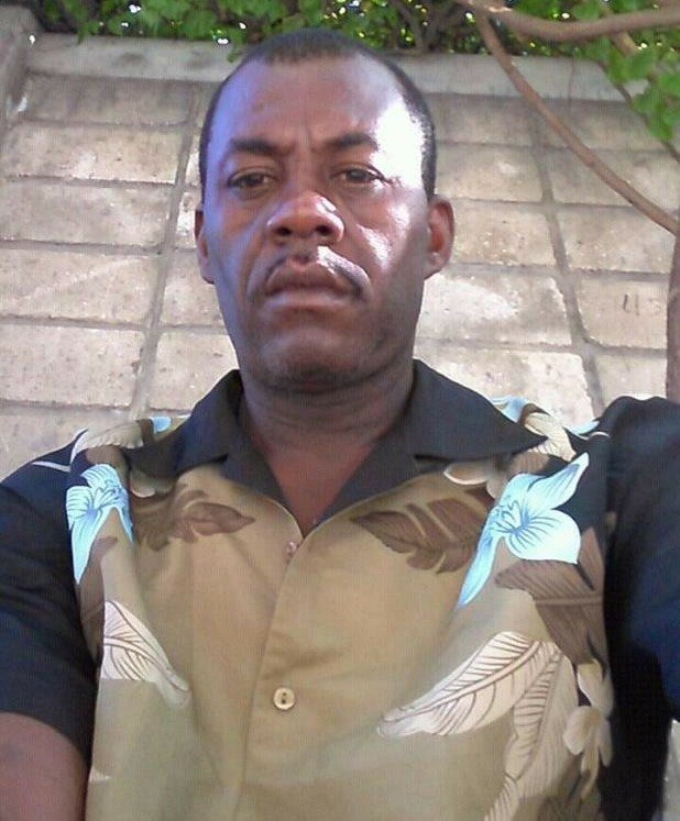 Photo : L'inspecteur de police Dieujuste Jean Pierre - Crédit Photo : Page Facebook de Dieujuste Jean Pierre