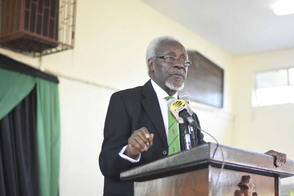 "Former Prime Minister and Calabar Old Boy, PJ Patterson Patterson said he has taken note of various incidents on the school grounds, which he said: ""doesn't cause anybody any pleasure.""