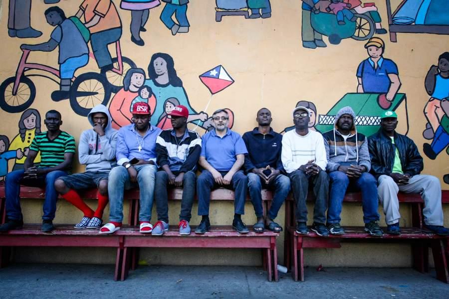 Chili: 55 nouveaux Haïtiens s'apprêtent à revenir en Haïti. Photo: La Tercera
