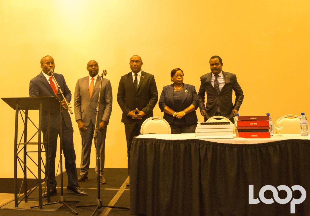 La commission Justice et sécurité du sénat de la République, le mercredi 31 octobre à l'hôtel Marriott. Photo: Luckenson Jean/Loop Haiti
