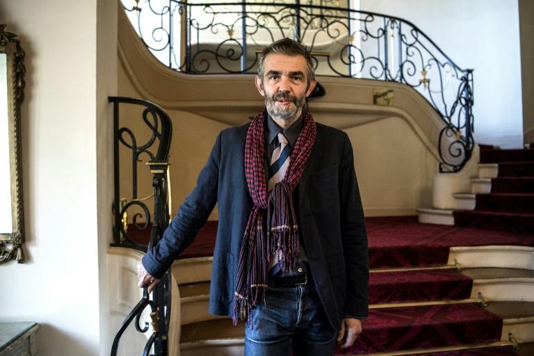 """Philippe Lançon, Prix Femina 2018 pour son livre """"Le Lambeau"""" le 5 novembre 2018"""
