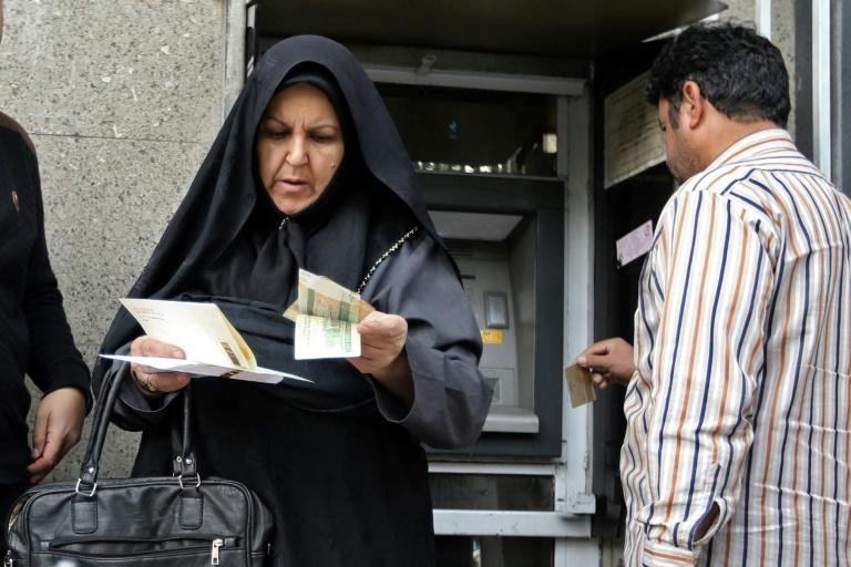 Le grand bazar de Téhéran le 3 novembre 2018