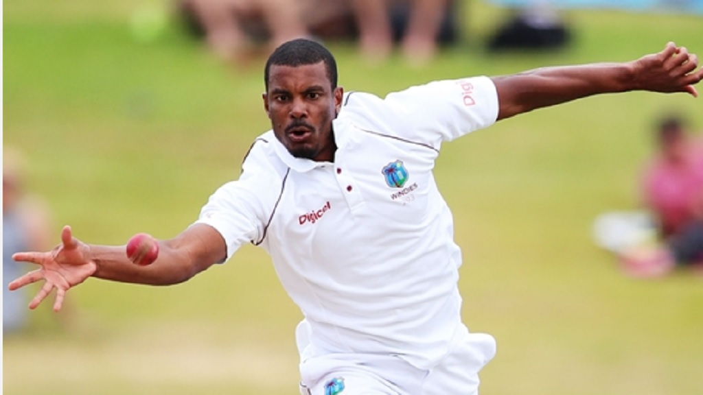 West Indies pacer Shannon Gabriel.