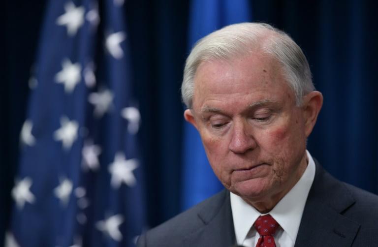 Le ministre de la Justice américain Jeff Sessions a démissioné mercredi à la demande du président Donald Trump.