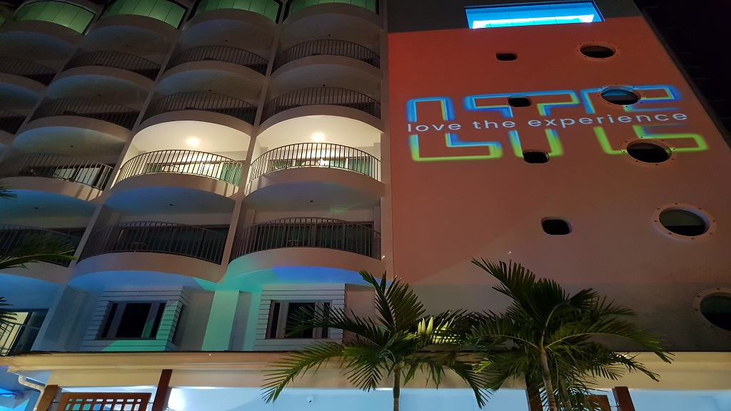 Harbor Club decked in Digicel LTE branding