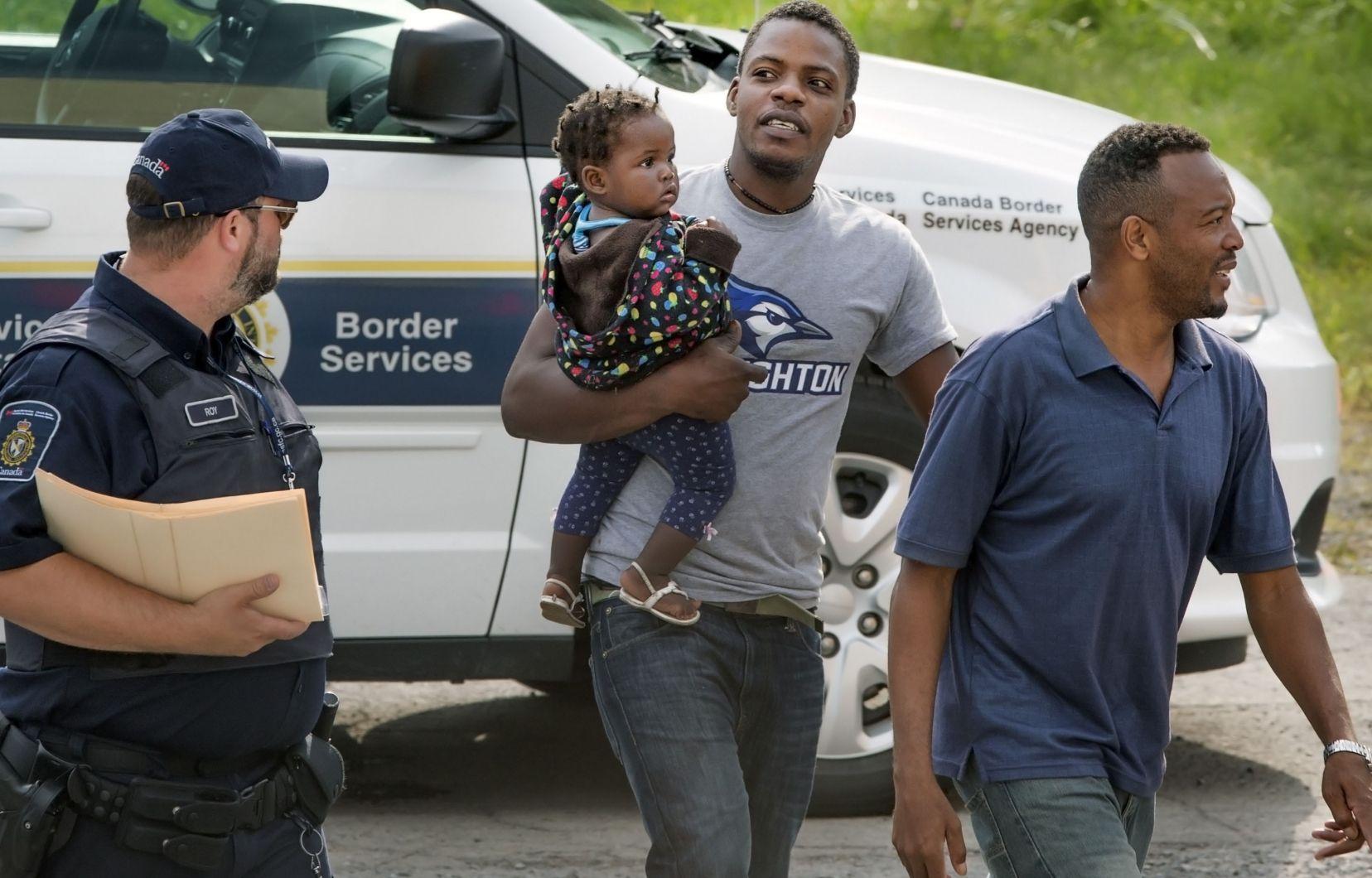 Le Canada annule un vol qui devaient renvoyer des Haïtiens. Photo: Le Devoir