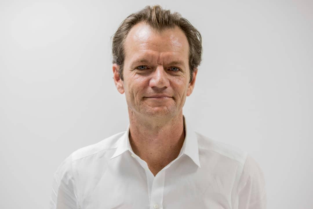 Le PDG de la Digicel Haiti, Maarten Boute