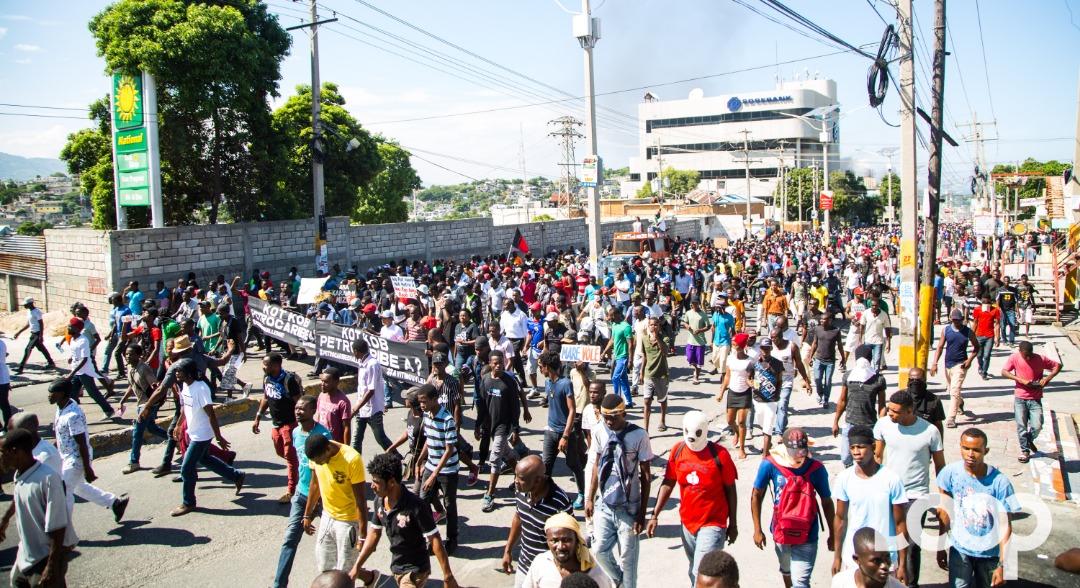 Plusieurs morts dans une manifestation en Haïti/ Photos et vidéo: Luckenson Jean/ Loop Haiti