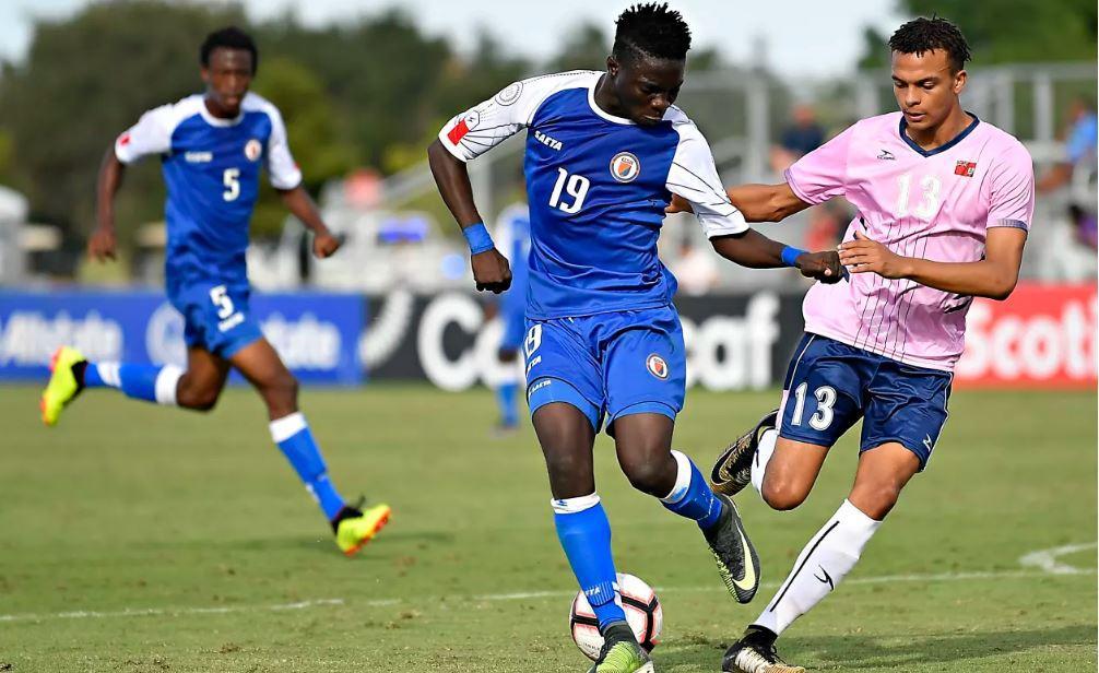 L'attaquant haitien, Nael Elysse. Photo : Concacaf