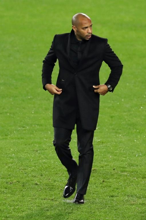 L'entraîneur de l'AS Monaco, Thierry Henry.