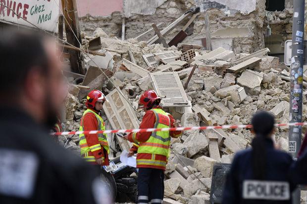 Au moins 8 disparus dans l'effondrement d'immeubles vétustes à Marseille