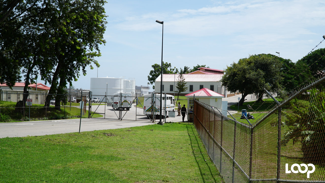 Her Majesty's Prison - Dodds in St. Philip, Barbados. (FILE)