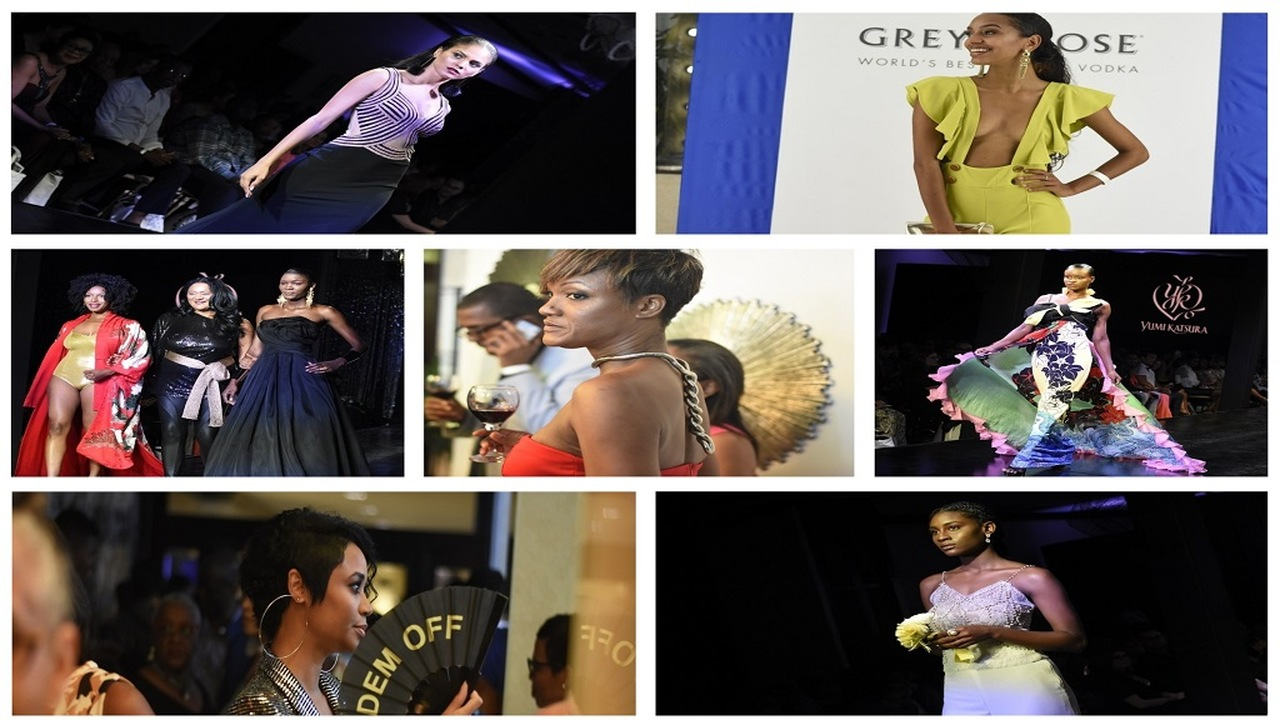 Photo collage showing some of the highlights from the Collection MoDA show at the Jamaica Pegasus hotel this week. (PHOTOS: Marlon Reid)