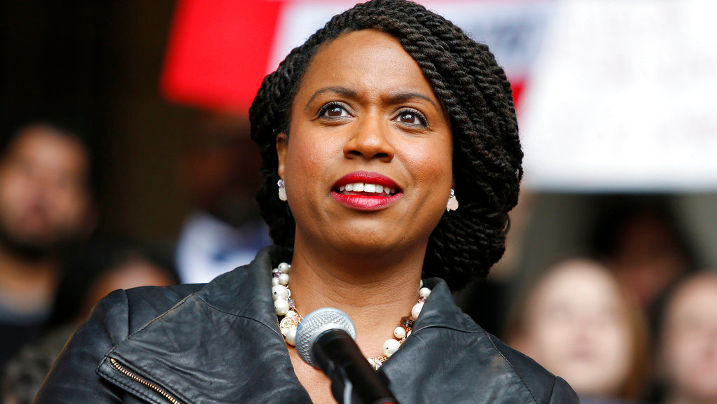 Rep.-elect Ayanna Pressley, D-Mass. (AP Photo)