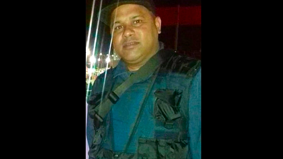 Photo: Security guard Kenwyn Williams was gunned down at Anand Low Price supermarket on October 30, 2018.