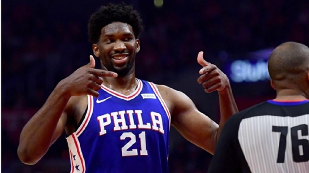 Philadelphia 76ers star Joel Embiid