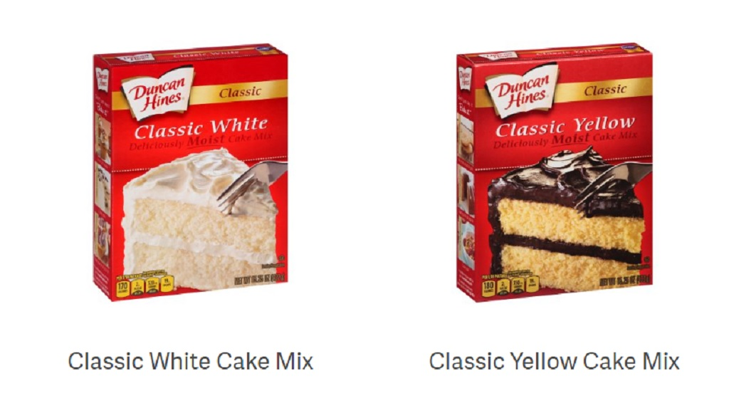 The recall affects Classic White, Classic Butter Golden, Signature Confetti and Classic Yellow varieties of cake mix.