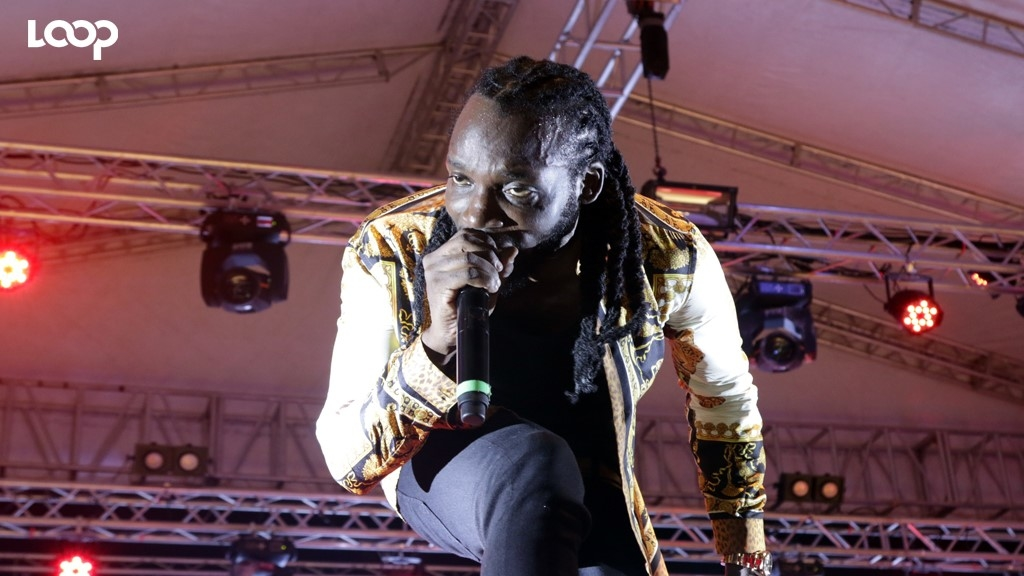 Mavado at the World Creole Music Festival. Photo by Ramon Lindsay