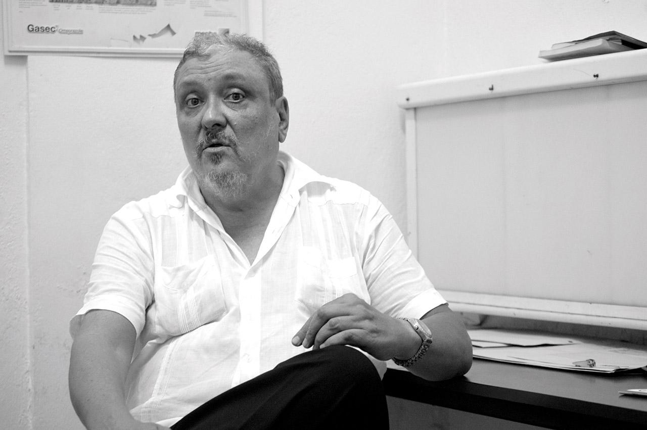 "Moïse Jean-Charles ne ""respecte rien"", selon Georges Michel. Photo: COSSY ROOSEVELT/ CHALLENGES"