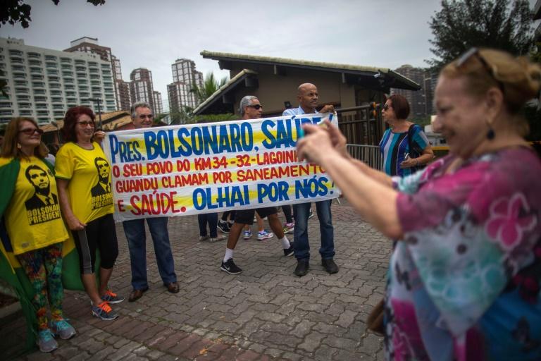 Le juge Sergio Moro quitte la résidence du président élu Jair Bolsonaro à Rio, le 1er novembre 2018