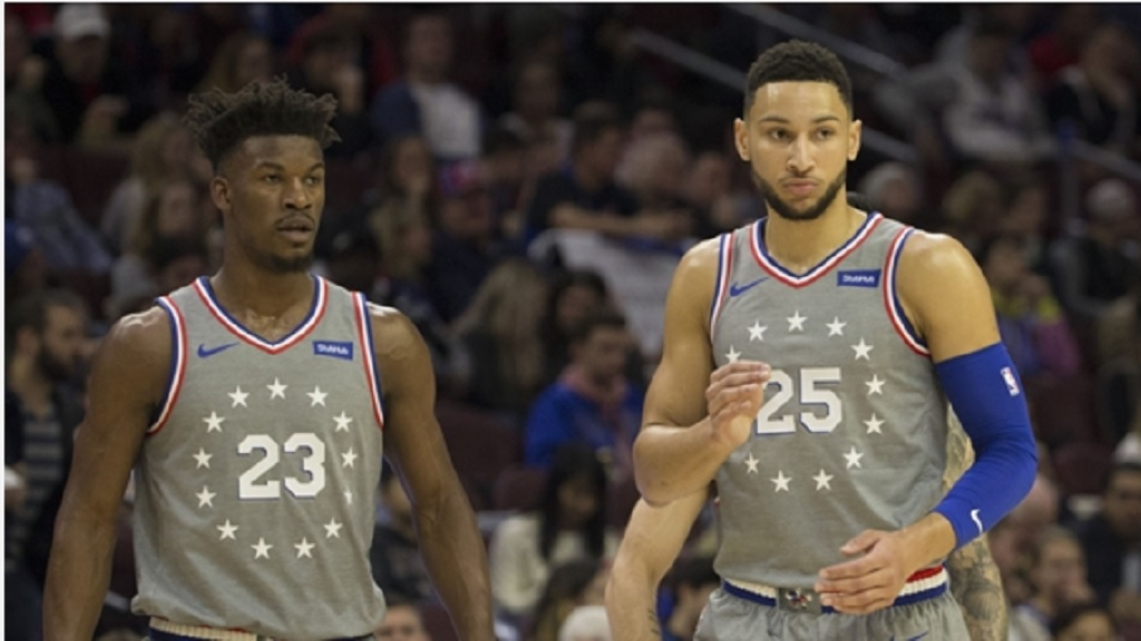 Jimmy Butler and Ben Simmons.