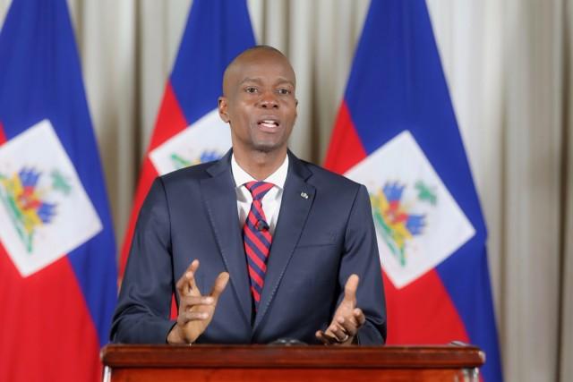 Le président haïtien Jovenel Moise.