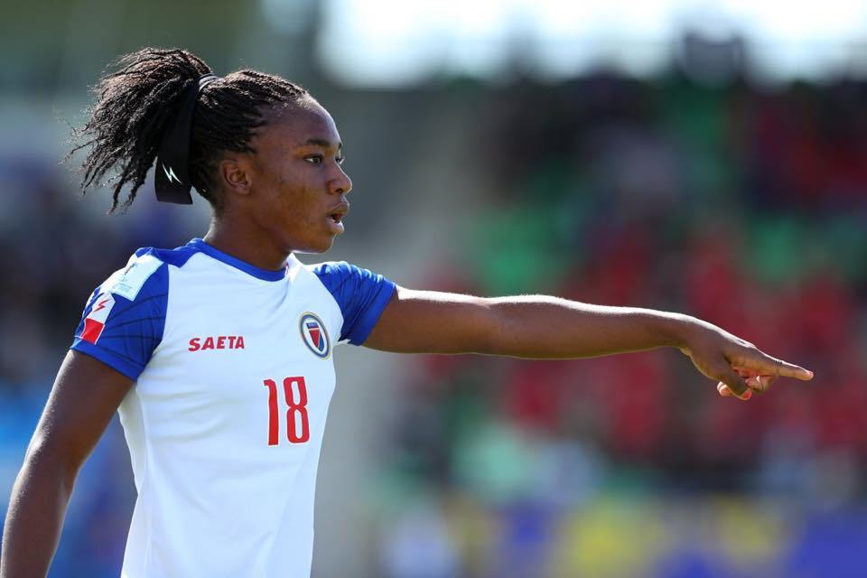 Melchie Dumonay. Photo de la Concacaf.