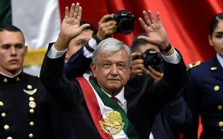 Le président élu mexicain Andres Manuel Lopez Obrador, le 10 août 2018 à Mexico