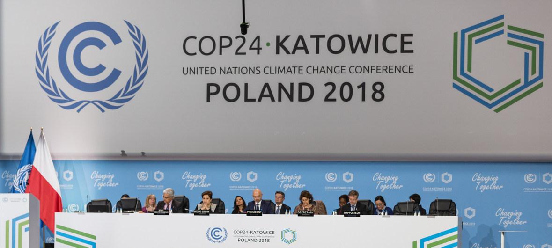 Une conférence des Nations Unies sur le changement climatique verte - Crédit Photo : UN News
