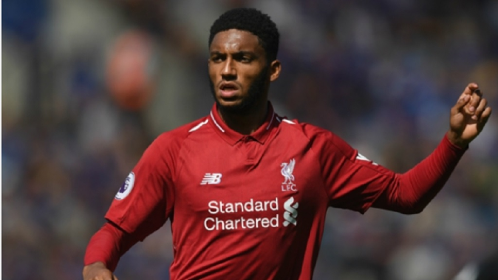 Liverpool defender Joe Gomez.