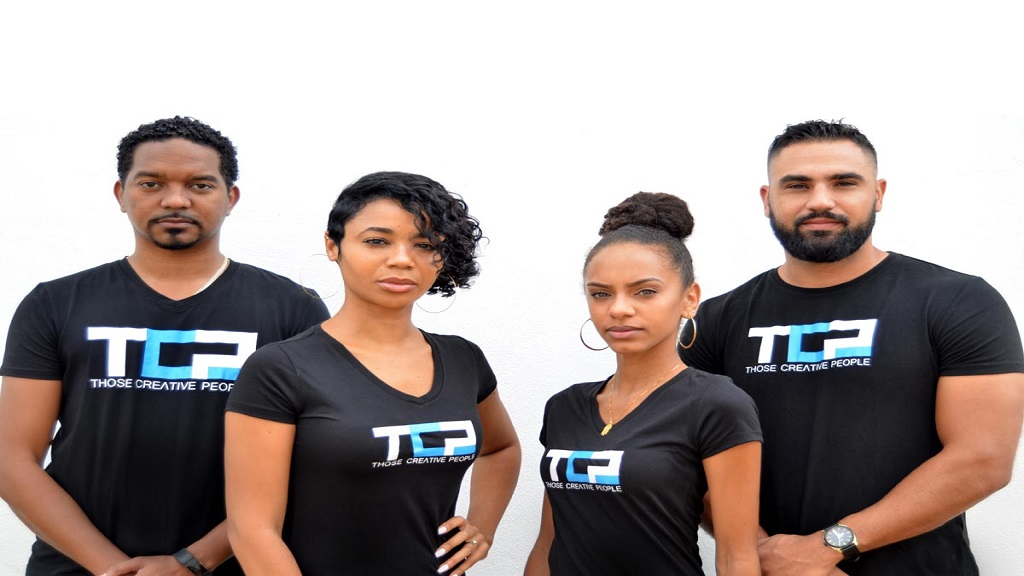 Members of the fledgling business entity, Those Creative People Tings (from left): Partner and Director of Operations – Marc Gayle; Co-Founder/Creative Director/Writer – Kia Moses; Creative Coordinator and Copywriter – Lindsey Lodenquai; and Co-Founder/Creative Director/Graphic Designer – Jordan Moses.