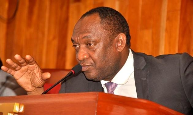 Youri Latortue, sénateur de la République