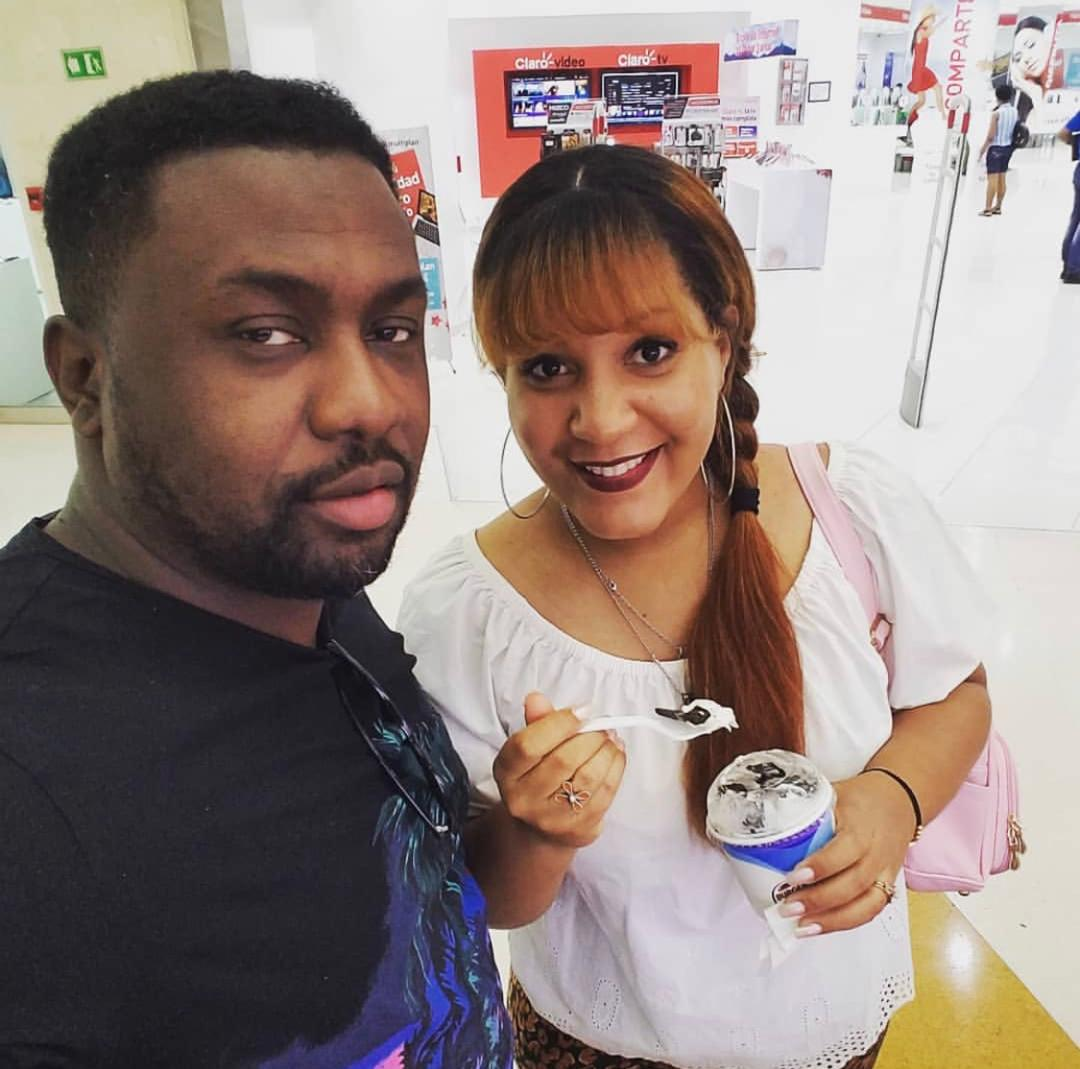 Roberto Pierre-Paul dit Berto, le chanteur du groupe Bèl Plezi a dit oui à sa femme Chrystel Carthright/ Photo: Instagram de Berto Belplezi