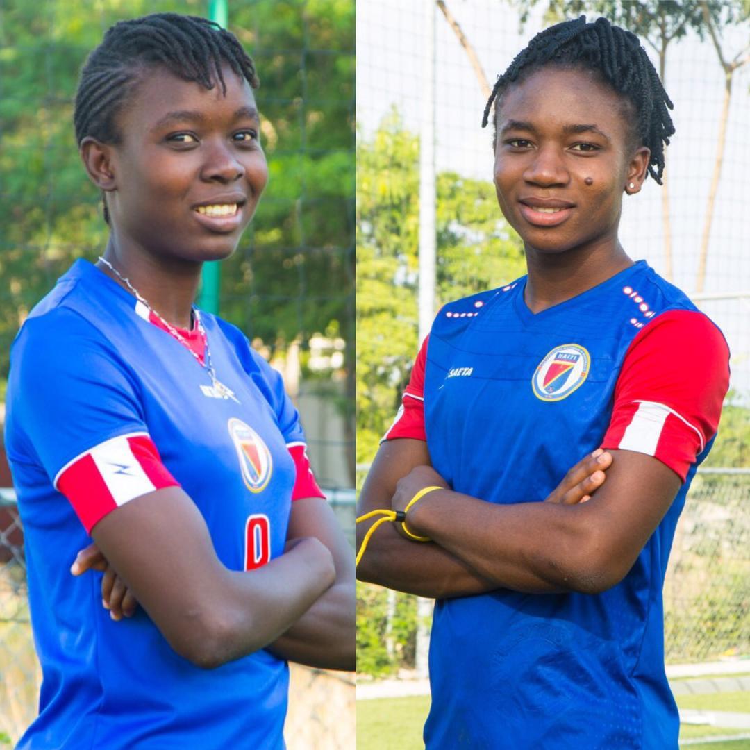 Les deux Stars du foot féminin: Melchie et Sherly