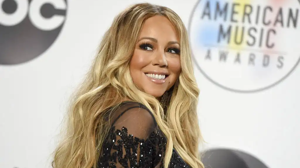 In this Oct. 9, 2018 file photo, Mariah Carey poses in the press room at the American Music Awards at the Microsoft Theater in Los Angeles. (Photo by Jordan Strauss/Invision/AP, File)