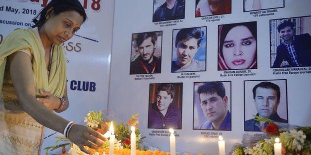 80 journalistes tués en 2018 dans le monde, contre 65 en 2017