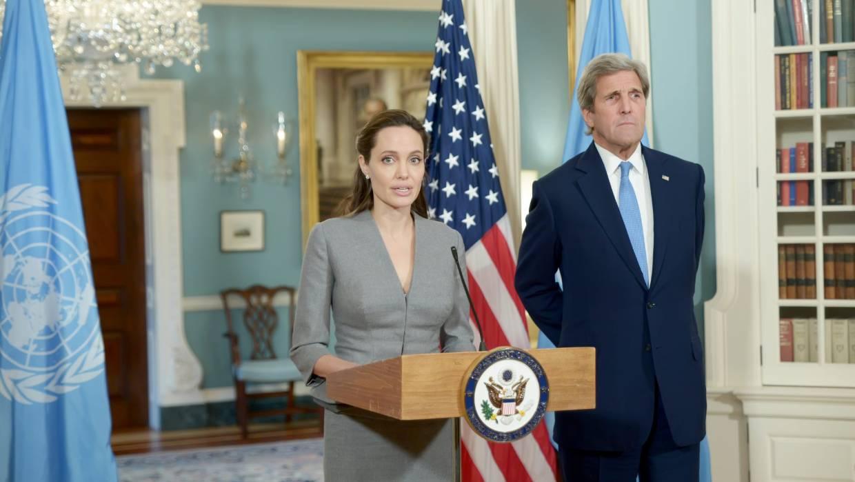 L'actrice Angelina Jolie n'exclut pas une carrière en politique — USA