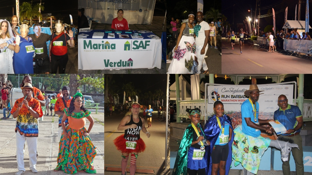 It is all about fun, good rivalry and charity at this year's Cave Shepherd Run Barbados Marathon Weekend. 