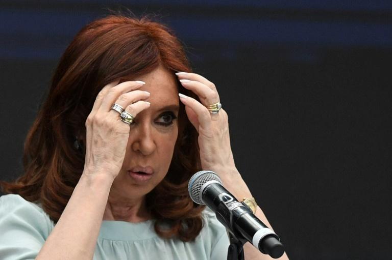 L'ex-présidente argentine Cristina Kirchner (2007-2015) à Buenos Aires, le 19 novembre 2018