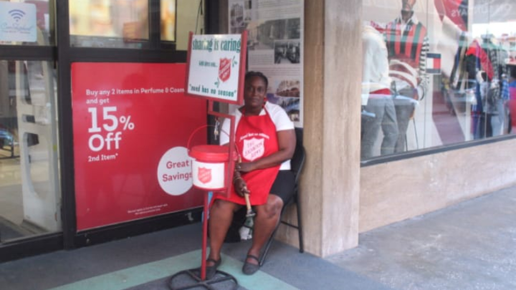 Barbadians are not giving to the Salvation Army like they used to.