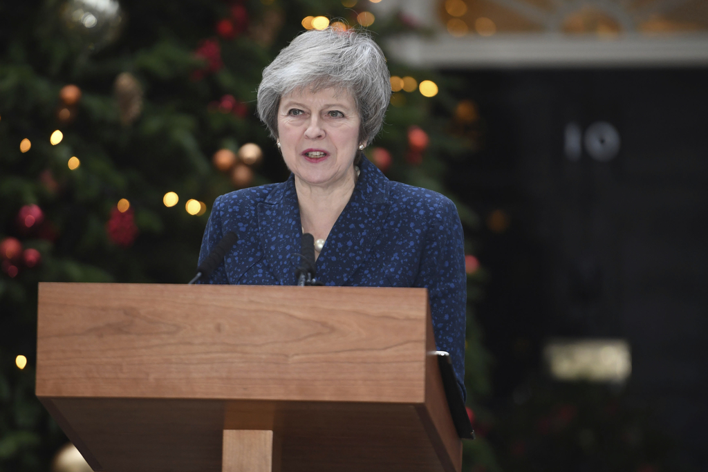 British Prime Minister Theresa May, (AP Photo)