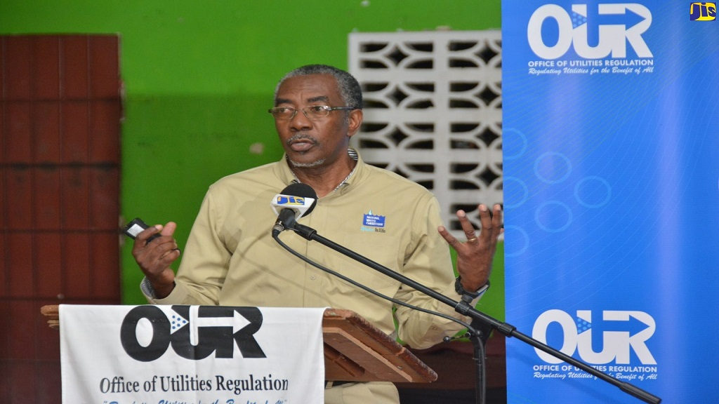 Vernon Barrett, Vice President, Investments and Performance Monitoring at NWC. Photo via Jamaica Information Service)