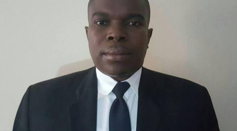 Le délégué départemental démissionnaire, Owell Théock
